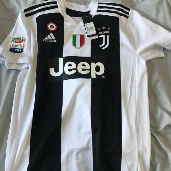 81d7e0281 C. Ronaldo Juventus 2018 18 Home Soccer Jersey !
